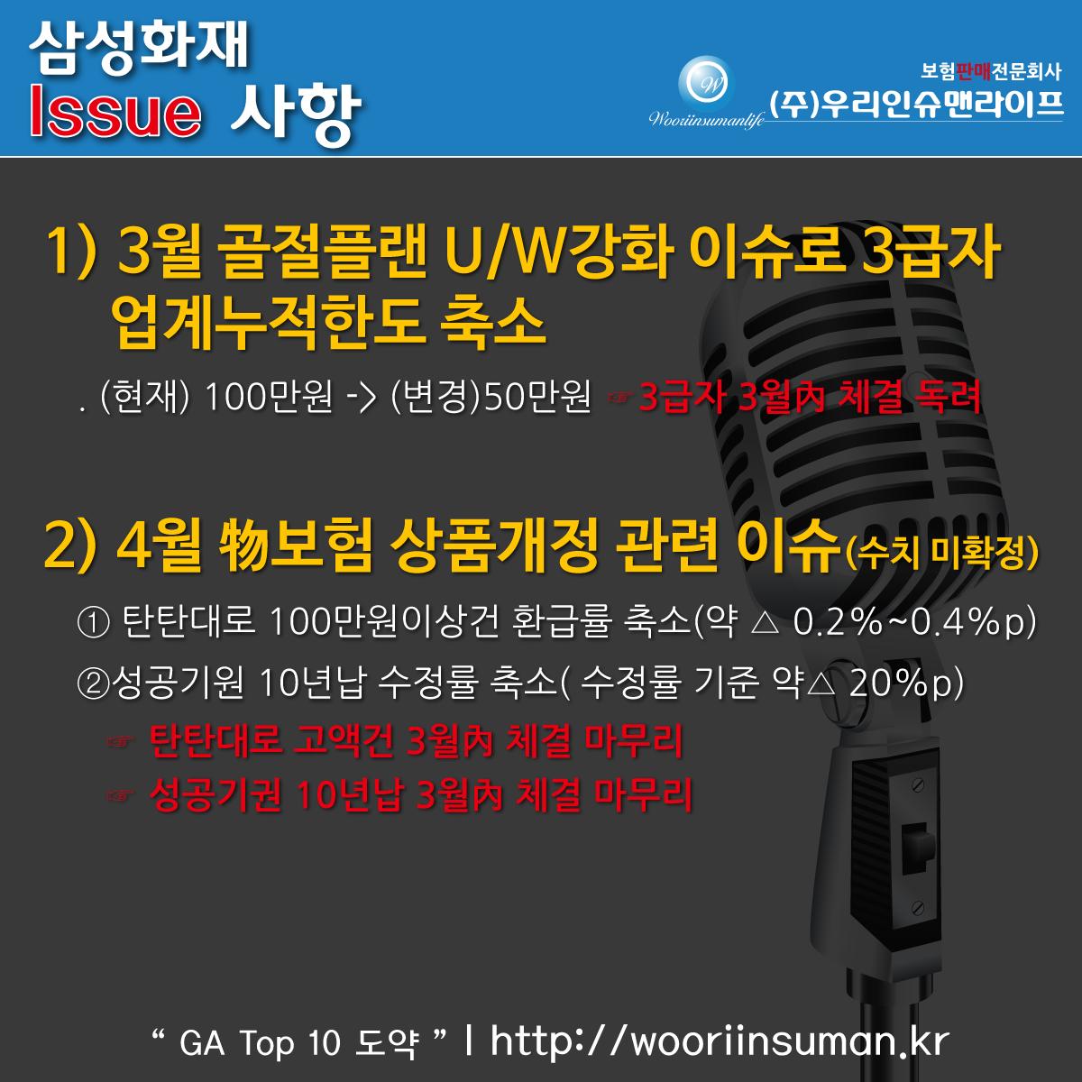 [★필독!]이달의 이슈-삼성화재